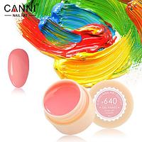 Гель-краска Canni №640 нежно-розовая, 5 мл