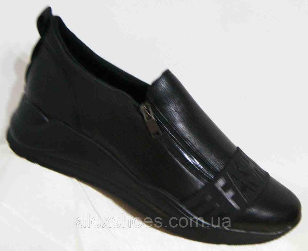 Туфли женские большого размера из натуральной кожи от производителя модель В5248-9