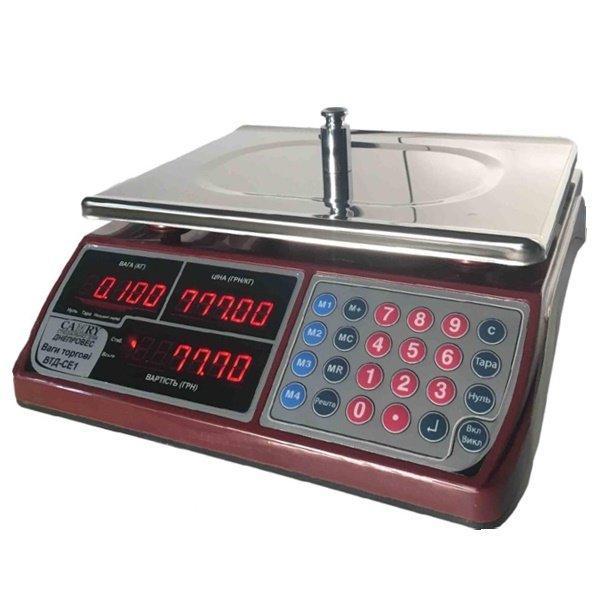 Весы торговые Днепровес ВТД-СЕ1 (30 кг)