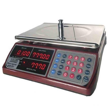 Весы торговые Днепровес ВТД-СЕ1 (30 кг), фото 2