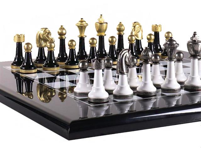"""Коллекция фигур """"Staunton"""". Классические шахматы Italfama."""