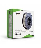 Проволока нержавейка ER-308 D 0.8 ( 5кг )