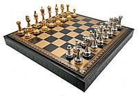 """Подарочный набор Italfama """"Fiorito"""" шахматы, шашки, нарды"""