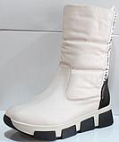 Сапоги женские дутыши зима от производителя КЛ227, фото 4