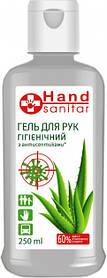 """HS Гель для рук гігієнічний """"Hand sanitar"""" 250 мл(9138)"""