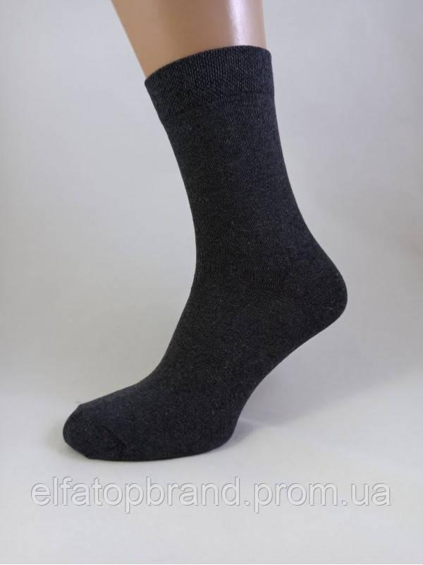 Чоловічі Шкарпетки Демісезонні Чорні 100-1С р. 31 Кордон Текс