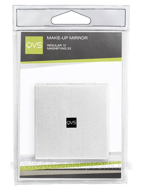 Зеркало Для Макияжа Двусторонние 59 х 59 мм QVS 10-1128