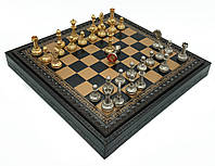 """Подарочный набор Italfama """"Mignon Fiorito"""" шахматы и шашки"""
