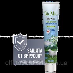 BioMio BIO-GEL гель для рук Чайне дерево 50 мл (ПРОМО, 20_ у подарунок)