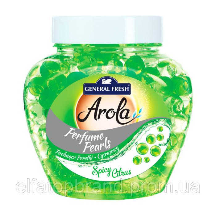 Освежитель Воздуха Ароматический  Для Машины и Дома Arola General Fresh Дженерал Фреш Лимон 250 г