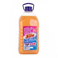 А_Засiб мийний побутовий ТМ Sila Мило господарське рiдке, в полімерній пляшці, маса нетто - 4,5 кг б