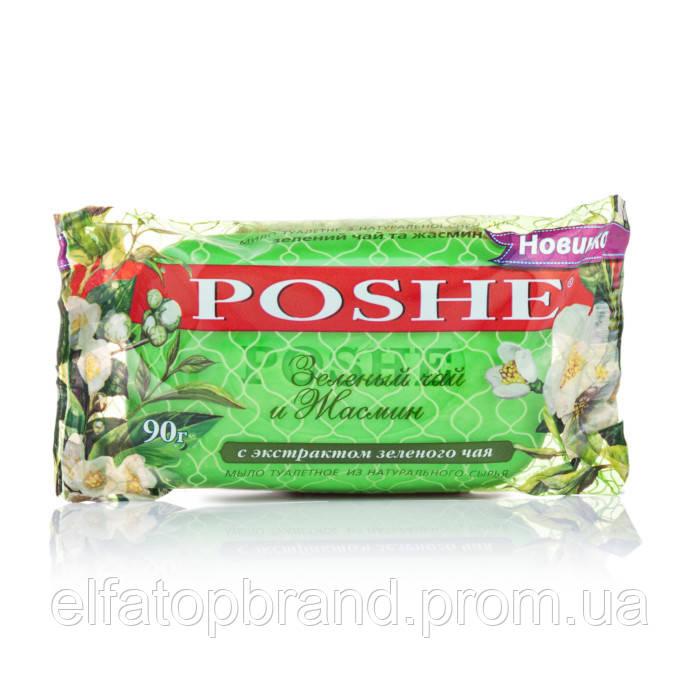 """Мило туалетне """"POSHE"""" Зелений чай та жасмин 90г"""