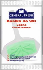 General Fresh Блок д/унітазів 35г Лісовий в поліетилені  Ароматичний