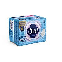 Гигиенические Прокладки Для Нормальных Выделений Поверхность Сеточка Ola Ола NEW 10 шт 4 Капли