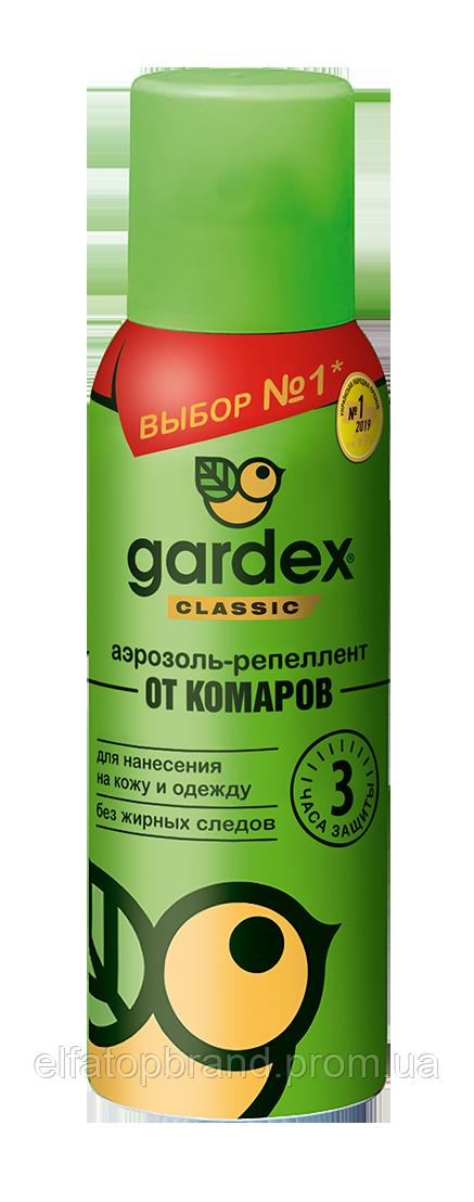Інс. Gardex Сlassic  Аерозоль-репелент від комарів,100 мл (24)