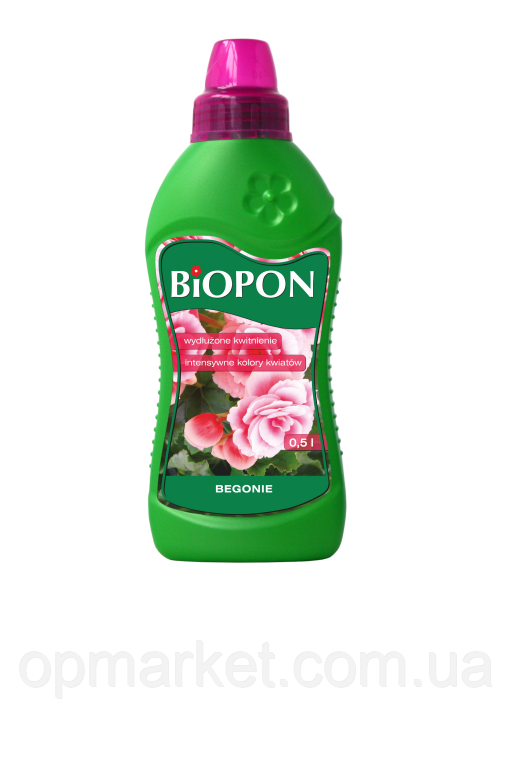 Удобрение Жидкое Для Бегоний Biopon 500 мл
