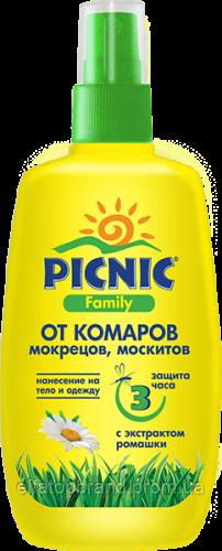 Пікнік Famili Лосьйон від комарів 100