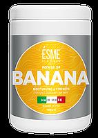 Маска Для Посіченого Волосся З Екстрактом Банана BANANA ESME Есмі 1000 мл