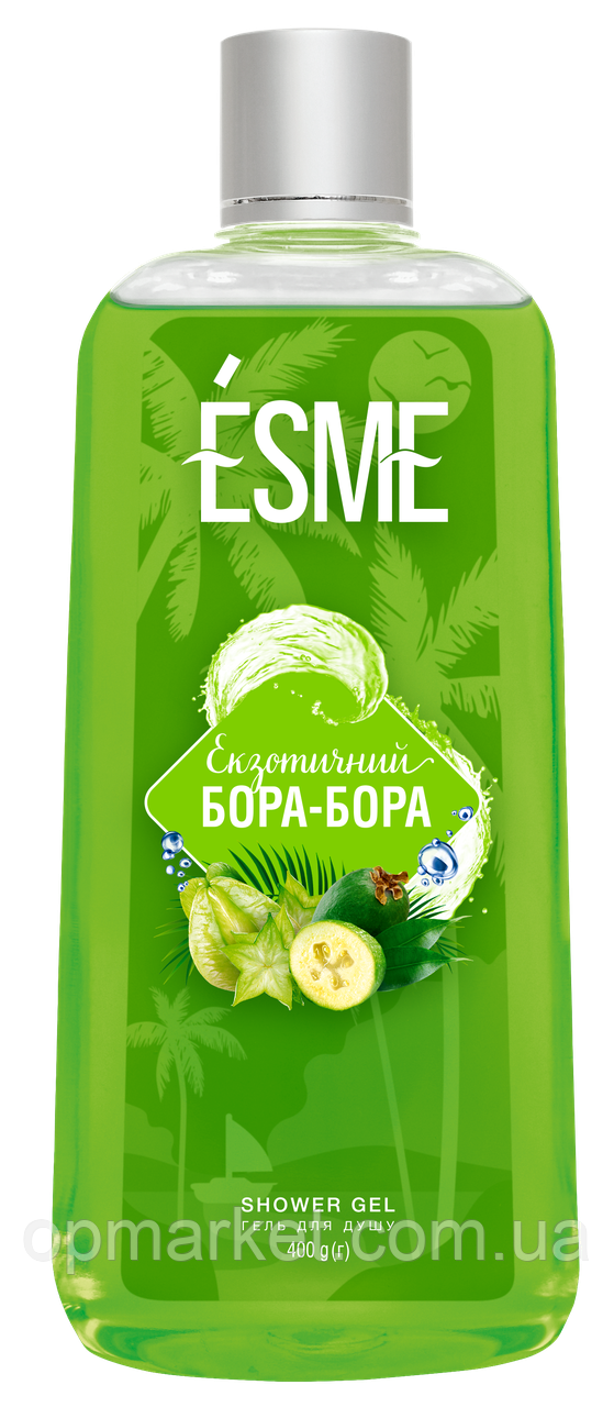 "Гель для душу Bora-Вога, ТМ ""ESME"" 400г"