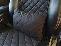 Автомобильные подушки, черный цвет.