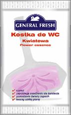Туалетный Блок Для Унитаза Цветочный Ароматизированный полиэтилен General Fresh Дженерал Фреш 35 г