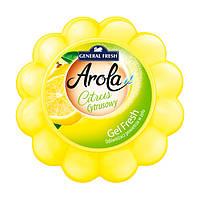 Освежитель Воздуха Ароматический Для Машины Дома GEL FRESH Лимон General Fresh Дженерал Фреш 150 г