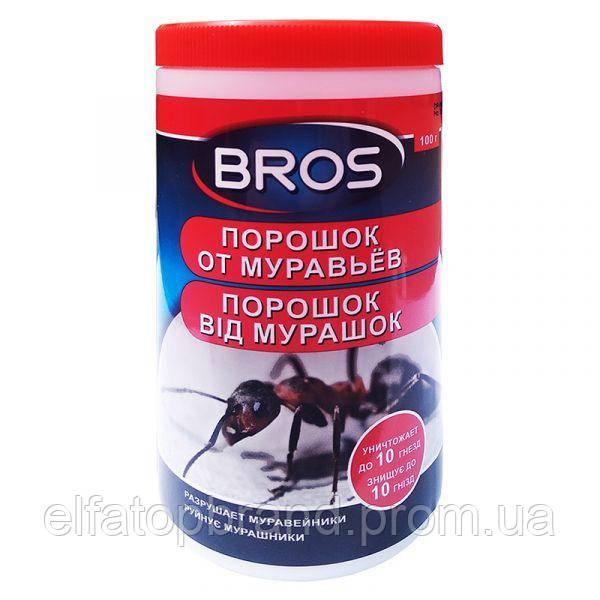 Bros Інсектицидний засіб Порошок від мурашок 250мл