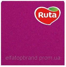 Салфетки Столовые Бумажные Сервировочные Под Тарелки И Приборы Рута Ruta 20л Колор 33 * 33 см Розовые
