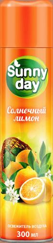 Ароматический Освежитель Воздуха от Неприятных Запахов Для Дома Солнечный Лимон Sunny Day 300 мл