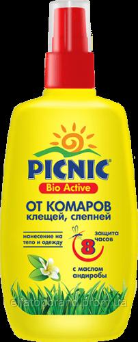 Пікнік Bio Active Лосьон від комар/кліщів 100