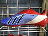 Бутсы Adidas messi красно-синие