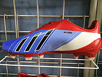 Бутсы Adidas messi красно-синие, фото 1