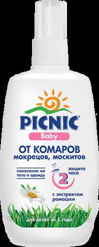 Пікнік Baby Лосьйон від комарів 100