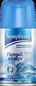 Освіж пов Symphony 250 змінний блок Гірське повітря