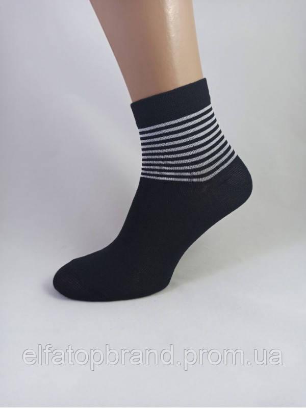 Шкарпетки 104-2С 23-25 жіночі чорні