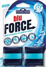 Туалетные Ароматизированные Дезинфицирующие Кубики в Бачок Море BLU Forse General Fresh Дженерал Фреш 2*50 г