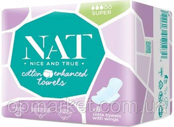 М/п NAT Ultra Towel Super Soft, 8 шт