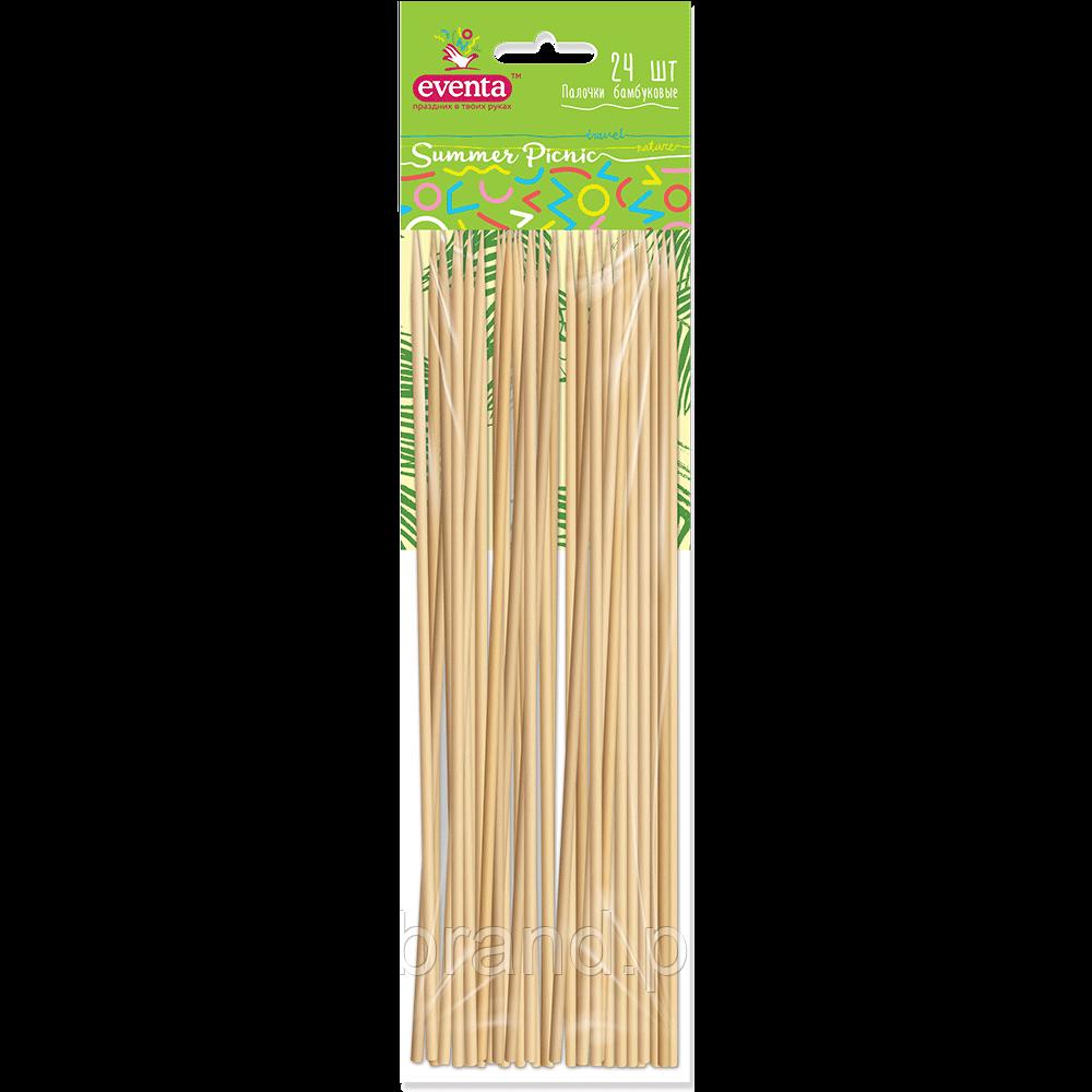 Бамбукові палички Summer Picnic Евента EVENTA 24 шт