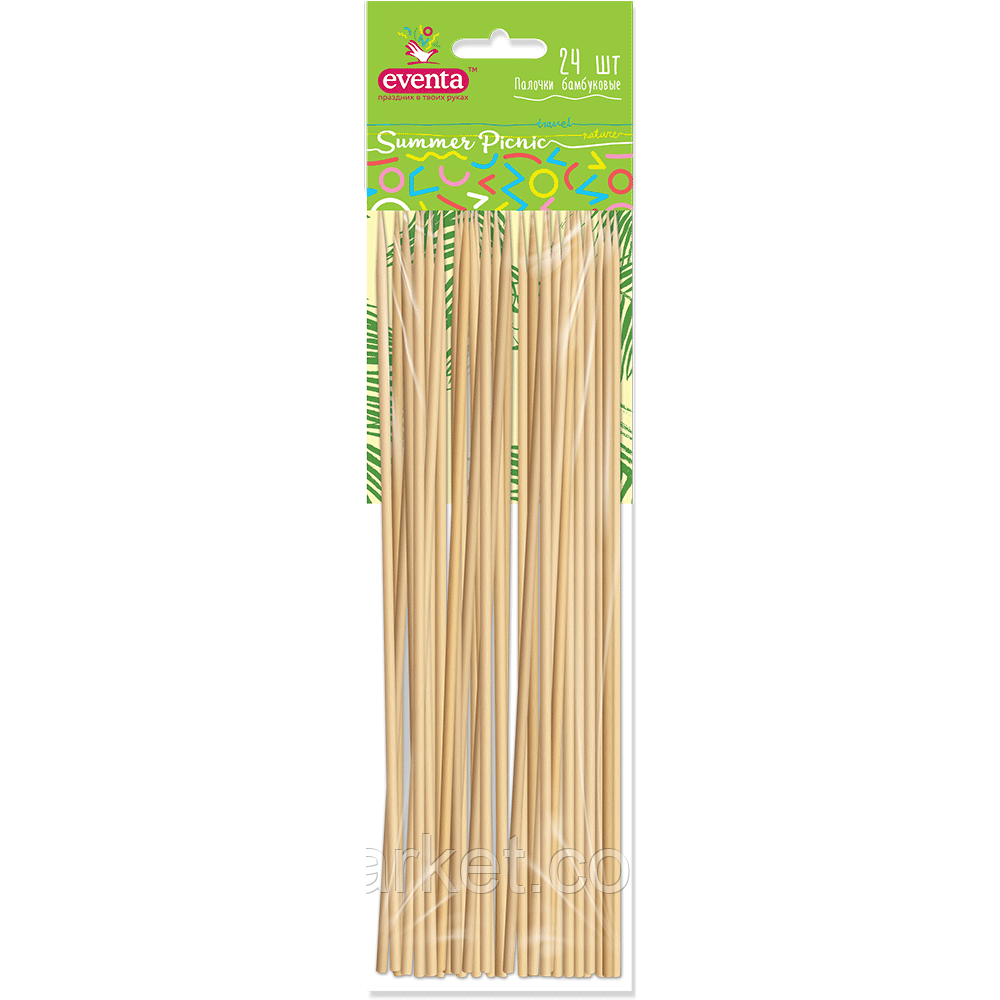 Палочки Бамбуковые Summer Picnic Евента EVENTA 24 шт