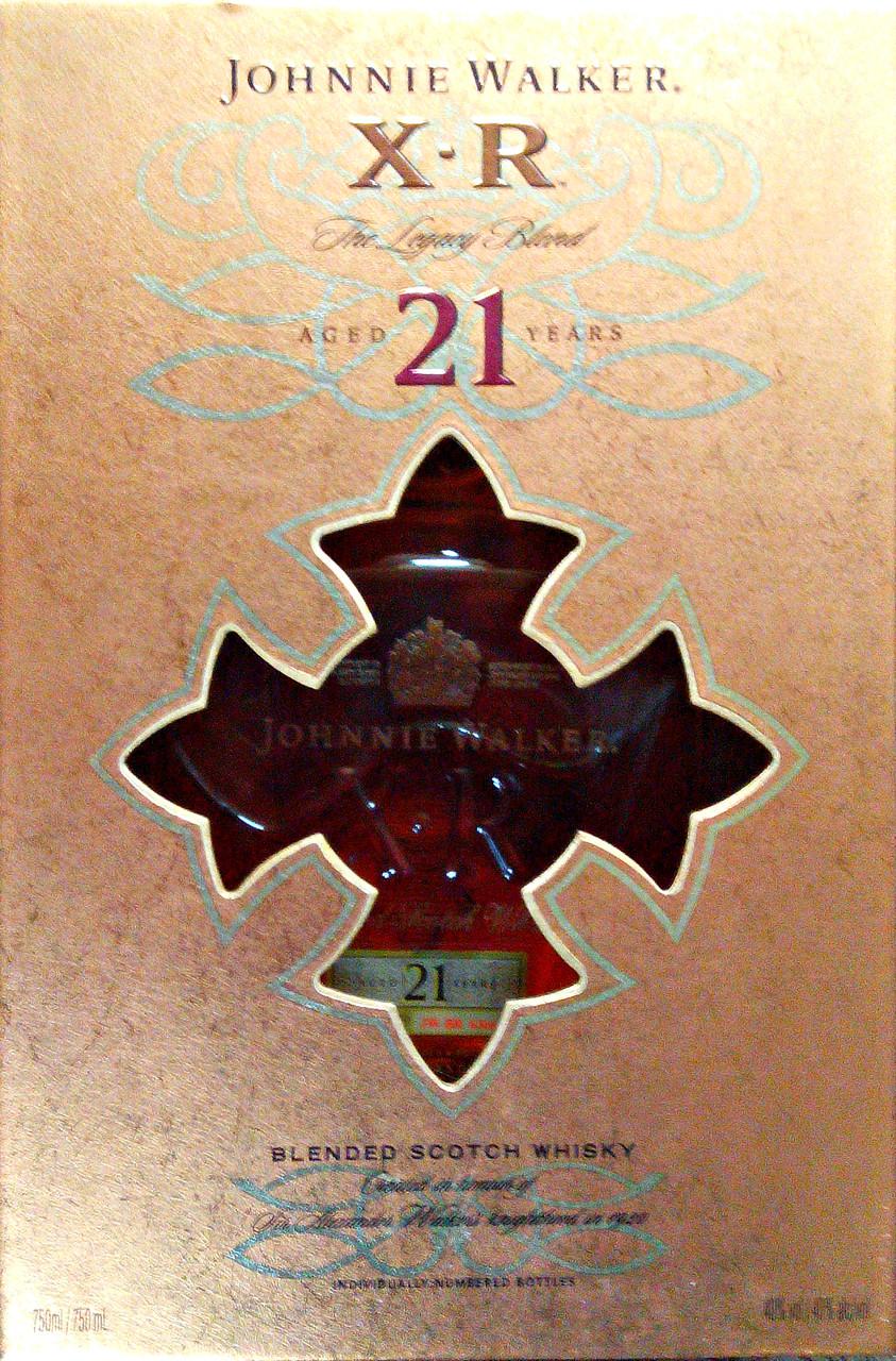 Виски Джонни Волкер 21 XR / Johnnie Walker XR 21YO в подарочной упаковке, фото 1