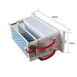 Портативный воздухоочиститель ионизатор генератор озона озонатор керамический 220В 10gc, фото 3