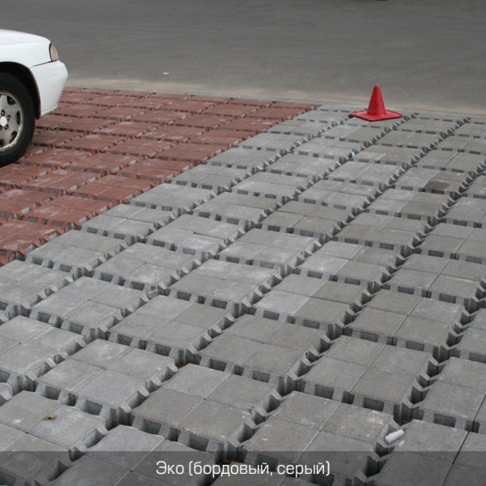 Тротуарная плитка решетка Эко горчичный, персиковый, красный 200х200 (вес 150кг / м) толщина 80 мм