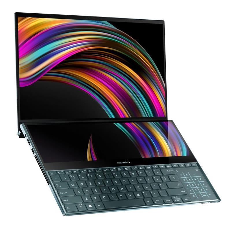 Ноутбук ASUS UX581GV-H2043T 15.6 UHD Touch/Intel i7-9750H/16/512SSD/NVD2060-6/W10/Blue
