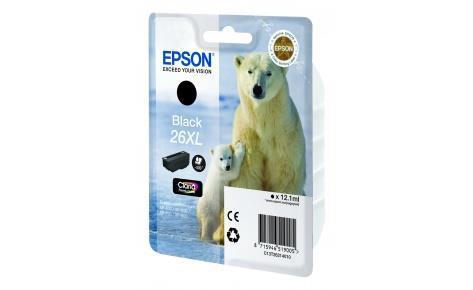Картридж Epson 26XL XP600/605/700 black pigment (500 стор) new