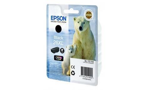 Картридж Epson 26XL XP600/605/700 black pigment (500 стор) new, фото 2