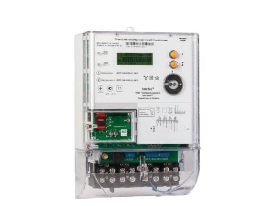 Счетчик MTX 3G30.DK.4L1-DОG4, 5(120)А, 3ф 3х220/380В, (А±R±), GPRS, многотарифний, Teletec