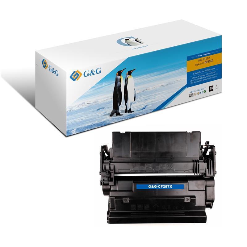 Картридж G&G для HP LJ M506/M527 Black (18000 ар.)