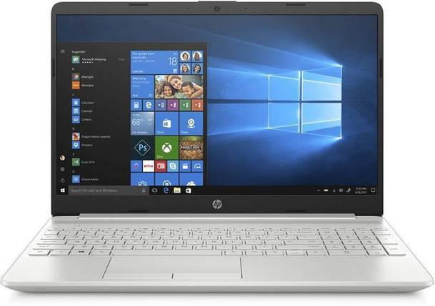 Ноутбук HP 15-dw1000ua 15.6 FHD IPS AG/Intel i3-10110U/8/256F/int/DOS/Silver, фото 2