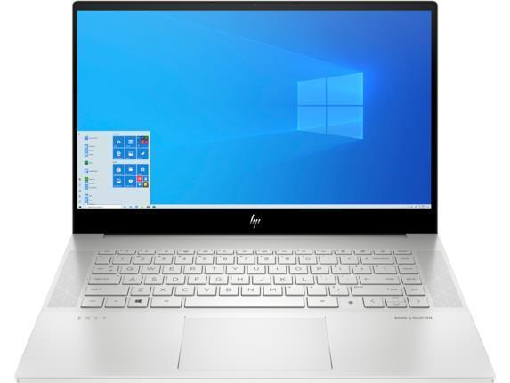 Ноутбук HP ENVY 15-ep0012ur 15.6 FHD IPS AG/Intel i7-10750H/32/2x512F/NVD1660Ti-6/W10/Silver