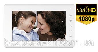 Видеодомофон AHD 1080P Qualvision QV-IDS4793 White